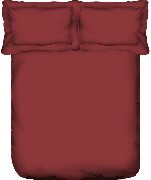 Ruby Rose Bedsheet With 4 Pillow Covers (100% Cotton, Super King Size) - Portico New York Just Us Classic Collection