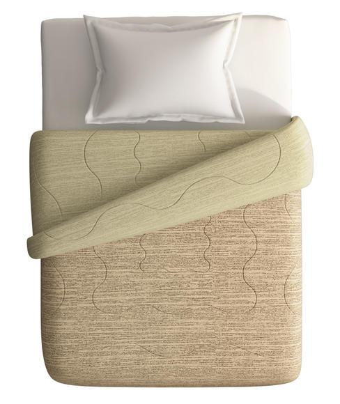 Imprints Chocolate Brown Comforter Single Size