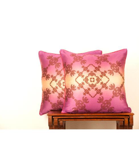 Ethnic Print 2 Pc Cushion Cover Set (Regular Size) - Portico New York Neeta Lulla Collection