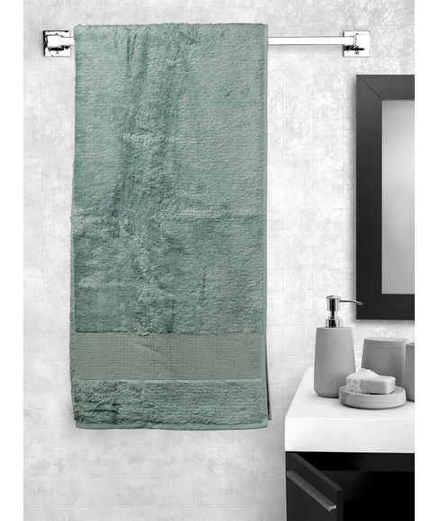 Blue Bell Bath Towel,  (70 x 150cms) - Portico New York New Lagoon Bamboo Collection