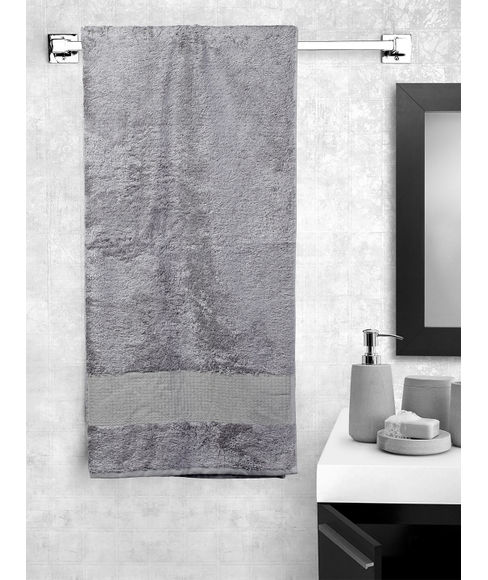 Silver Chain Bath Towel,  (70 x 150cms) - Portico New York New Lagoon Bamboo Collection