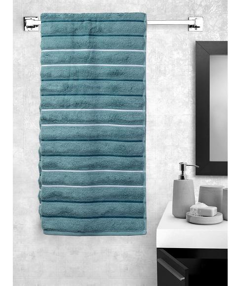 Mushroom Bath Towel (70 x 150cms) - Portico New York New Myra Multi Stripe Collection