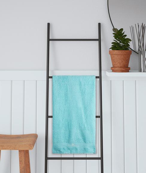 Cyan Medium Bath Towel, GSM - 600 (60 X 120 Cms) - Portico New York Fresh Collection