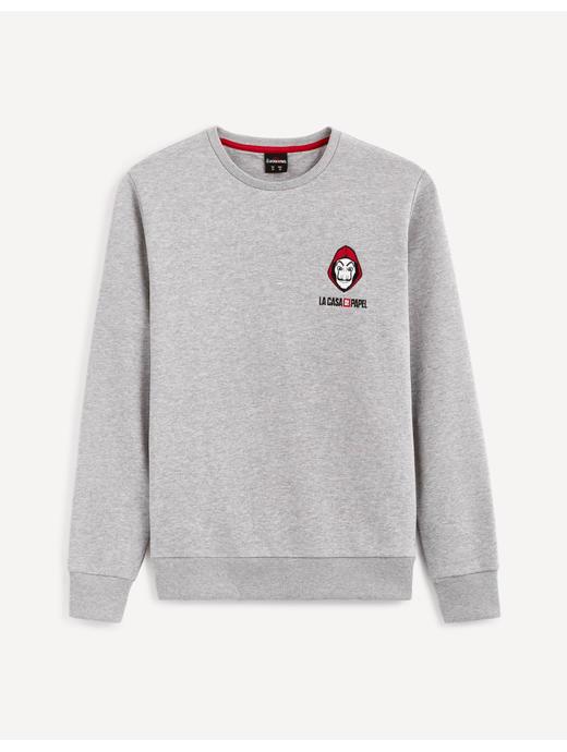 Money Heist- Grey Sweatshirt