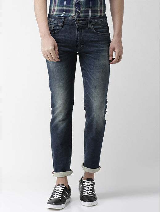 Straight Fit Brut Knitted Denim