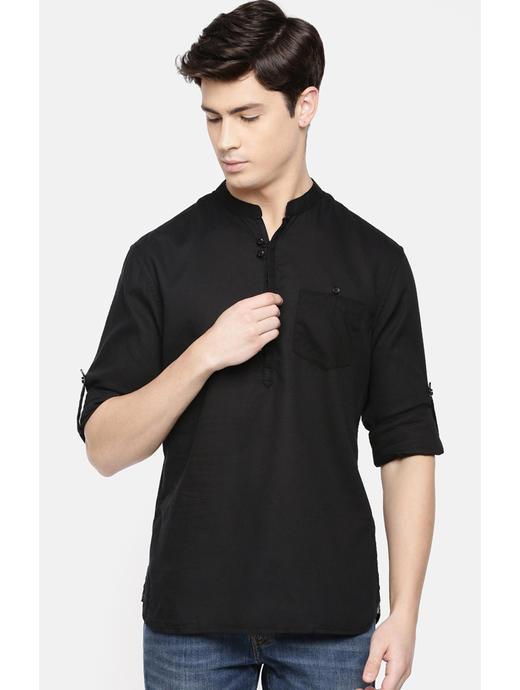 100% Cotton Black Shirt