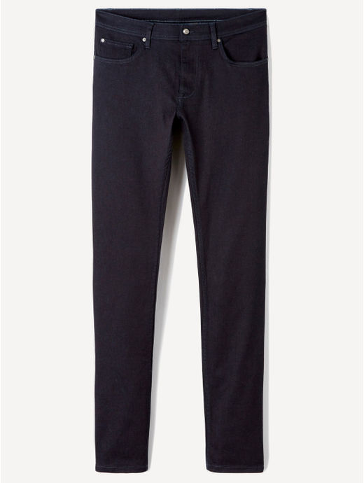 Stay Dark Blue Solid Slim Fit Jeans