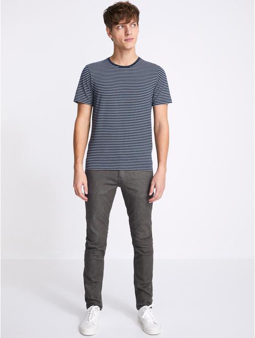 Powerflex Grey Solid Slim Fit Jeans
