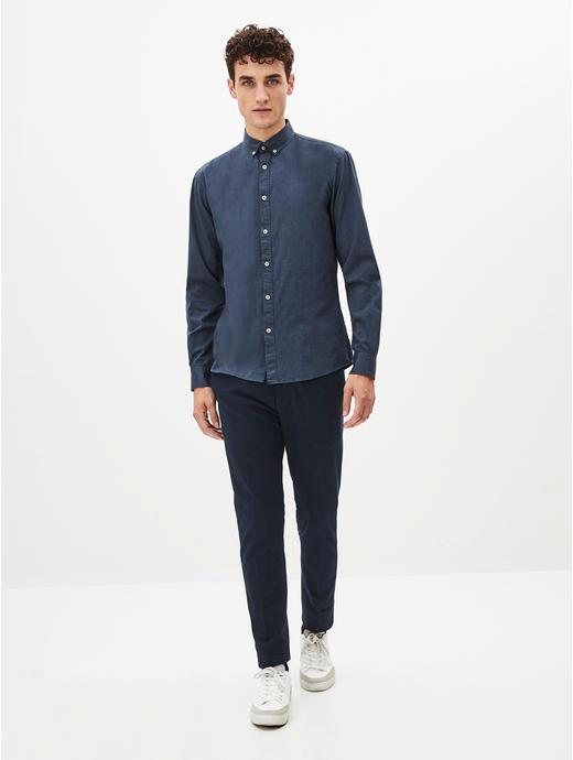 100% Cotton Indigo Shirt
