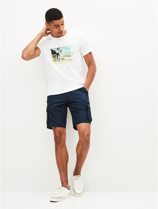 100% Cotton Navy Chinos