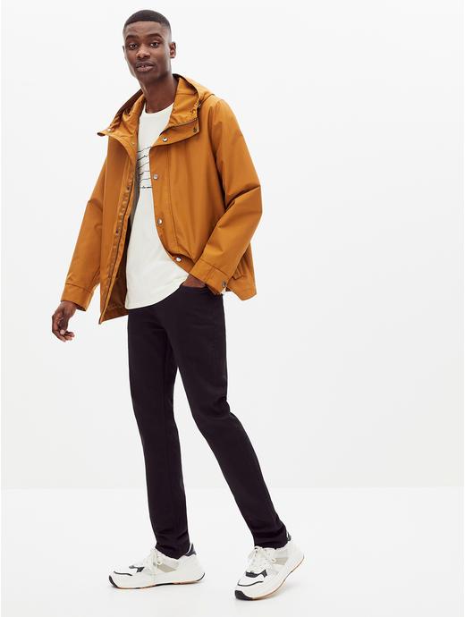 Stay Dark Black Solid Slim Fit Jeans