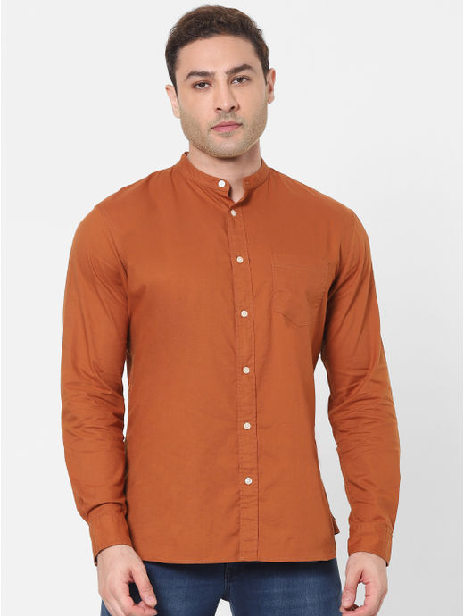 100% Cotton Orange Shirt
