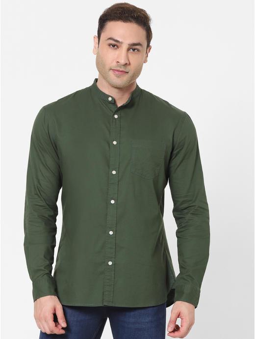 100% Cotton Green Shirt