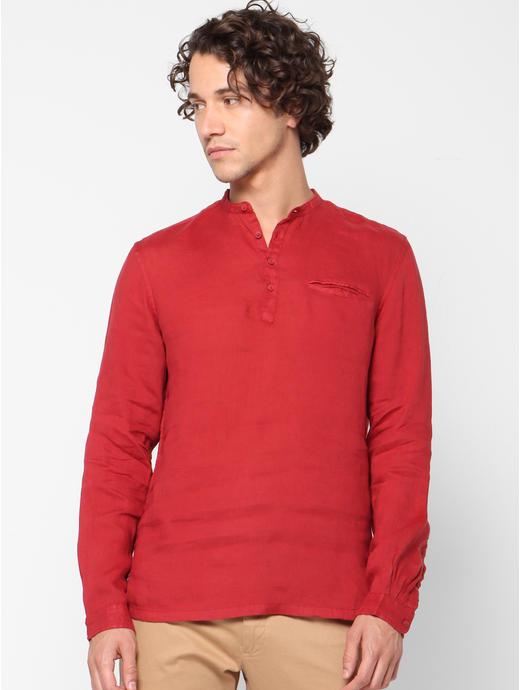 100% Linen Regular Fit Casual Shirts