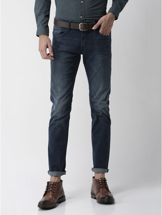 Soft Touch-Slim Fit Blue Jeans
