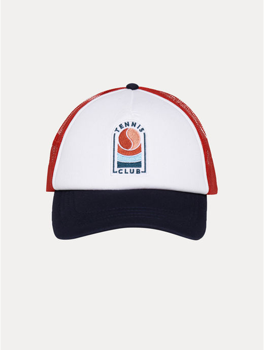 Red Embroidered Baseball Cap