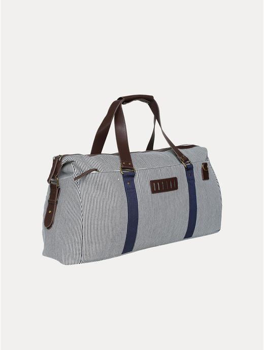 Navy Duffle Bag
