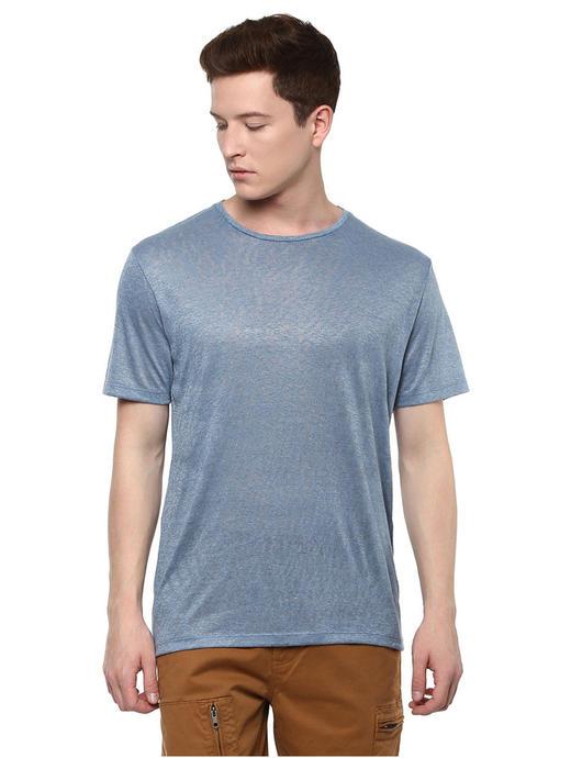 Blue Melange T-Shirt