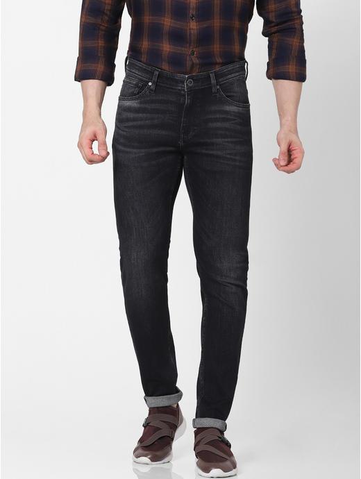 Slim Fit Black Jeans