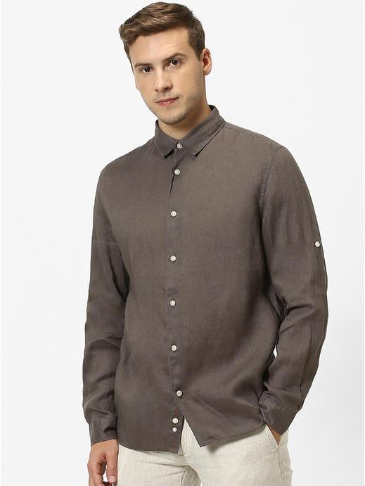 Regular shirt 100% linen