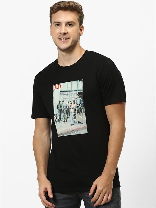 LIFE-Black T-Shirt