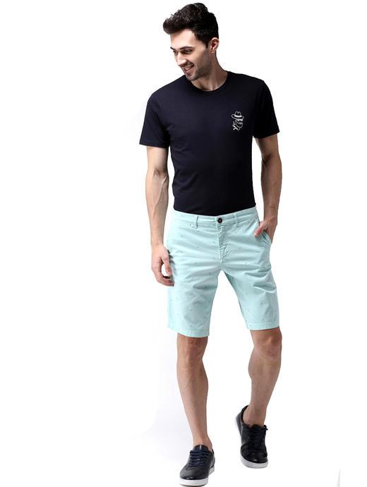 Aqua Solid Shorts