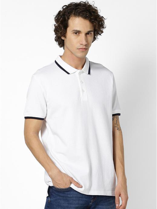 100% Cotton White Polos