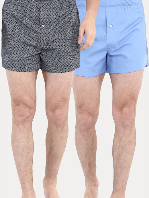 Light Blue Boxers - Pack of 2