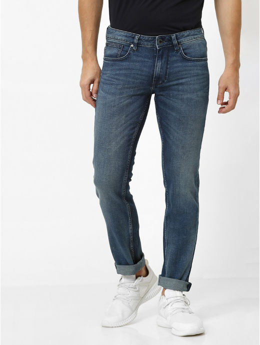 Soft Touch-Slim Fit Indigo Jeans