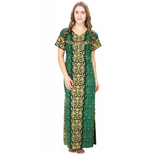 Cotton Green Nursing Nighty, Nightdress